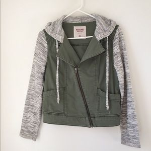 Mossimo Women's M army green jacket